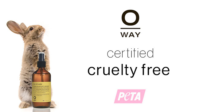 oway cruelty free salon products